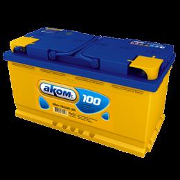 Аккумулятор АКОМ 6СТ-100 о.п.