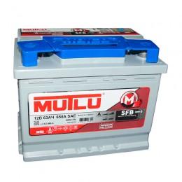 Аккумулятор MUTLU 6СТ-63 о.п. низкая