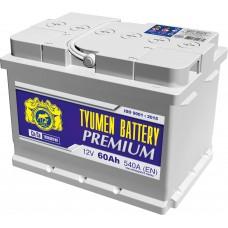 Аккумулятор Тюмень Премиум 6СТ-60 о.п.