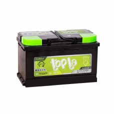 Аккумулятор Topla AGM Stop&Go 12V 80 о.п,