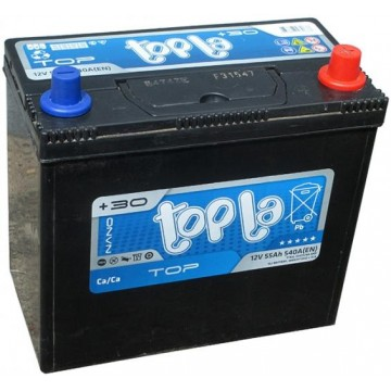 Аккумуляторная батарея 6СТ-55 о.п. (R+) Topla Top JIS В24