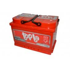 Аккумулятор 6СТ-75 о.п. Topla Energy