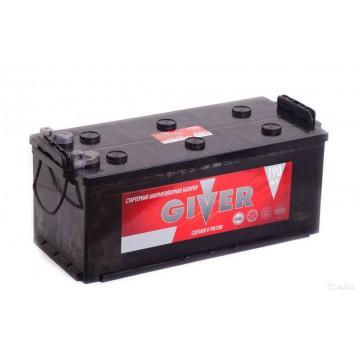 Аккумулятор GIVER 6СТ-190 узкий болт п.п.