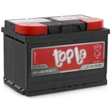 Аккумулятор 6СТ-75 п.п. Topla Energy