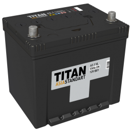 Аккумулятор TITAN ASIA STANDART 6СТ-62.1 VL п.п.  (550А)