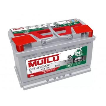 Аккумулятор Mutlu AGM 6СТ-80.0
