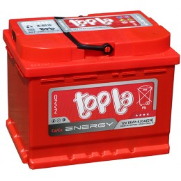 Аккумулятор 6СТ-66 о.п. Topla Energy