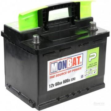 Аккумулятор MONBAT Р 6СТ-60 Ah L+ п.п