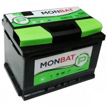 Аккумулятор MONBAT Р 6СТ-63 Ah L+ п.п