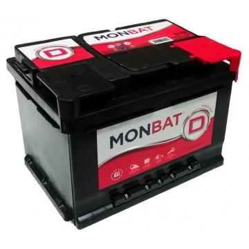 Аккумулятор MONBAT D 6СТ-60 Ah R+ о.п.