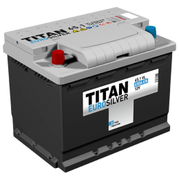 Аккумулятор TITAN EUROSILVER 6СТ-65.1 VL п.п. (650А)