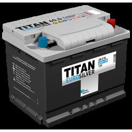 Аккумулятор TITAN EUROSILVER 6СТ-60.0 VL о.п. низкая (600А)