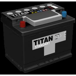 Аккумулятор TITAN STANDART 6СТ-62.1 VL п.п.  (550А)