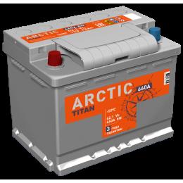 Аккумулятор TITAN ARCTIC 6СТ-62.1 VL п.п.  (640А)