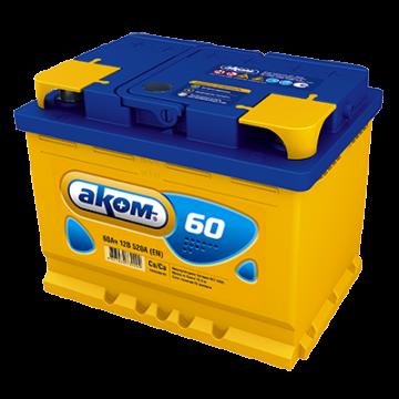 Аккумуляторная батарея Аком 6ст-60 п.п.