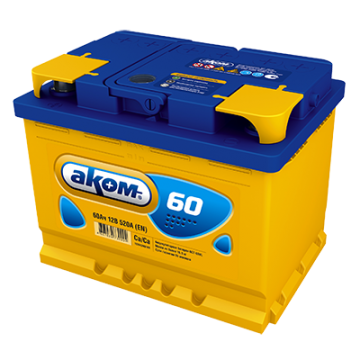 Аккумуляторная батарея Аком 6ст-60 о.п.