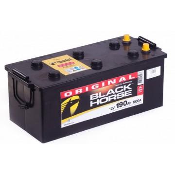 Аккумуляторная батарея 6СТ-190 п.п. Black Horse