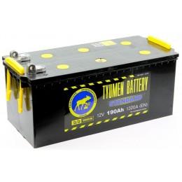 Аккумулятор Тюмень 6СТ-190
