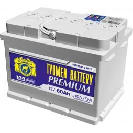 Аккумулятор Тюмень Премиум 6СТ-60 п.п.