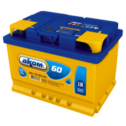 Аккумулятор АКОМ 6СТ-60 о.п. LB (низ.форм)