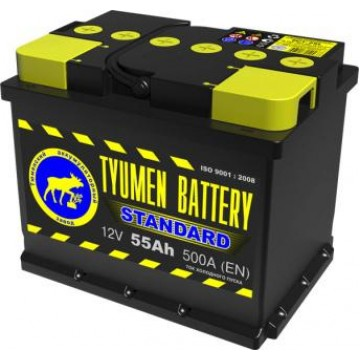 Аккумуляторная батарея 6СТ-55 п.п. Тюмень