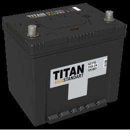 Аккумулятор TITAN ASIA STANDART 6СТ-62.1 VL п.п. 2018 Старая цена 4900