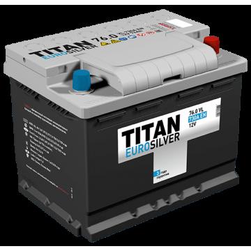 Аккумулятор TITAN EUROSILVER 6СТ-70.0 VL kamina (720А)