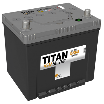 Аккумулятор TITAN ASIASILVER 6СТ-70.0 VL B01 о.п. (600А)