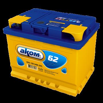 Аккумуляторная батарея Аком 6ст-62 о.п.