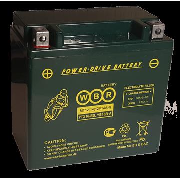 Аккумуляторная батарея WBR МТ 12-14