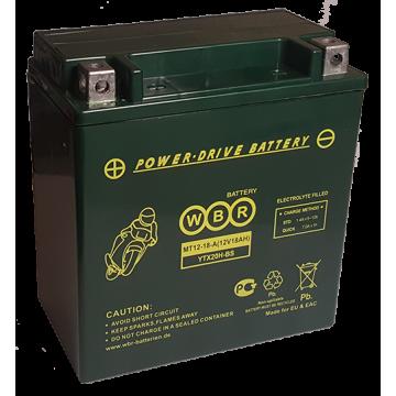 Аккумуляторная батарея WBR МТ 12-18А
