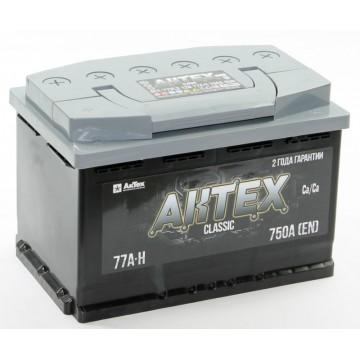 Аккумулятор АКТЕХ CLASSIC 6СТ-77.0 VL3