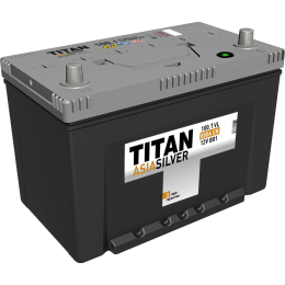 Аккумулятор TITAN ASIASILVER  6СТ-100.1 VL п.п.  (850А)