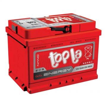 Аккумуляторная батарея 6СТ-55 п.п. (L+)LB2 Topla Energy
