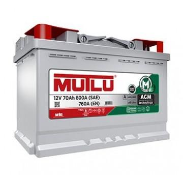 Аккумулятор MUTLU AGM 6СТ-70 о.п.