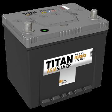 Аккумулятор TITAN ASIASILVER 6СТ-77.0 VL (650А)