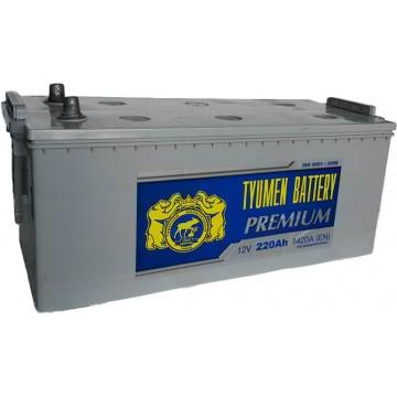 Аккумулятор Тюмень Premium 6СТ-220 оп