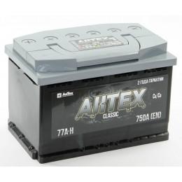 Аккумулятор АКТЕХ CLASSIC 6СТ-77.1 VL3