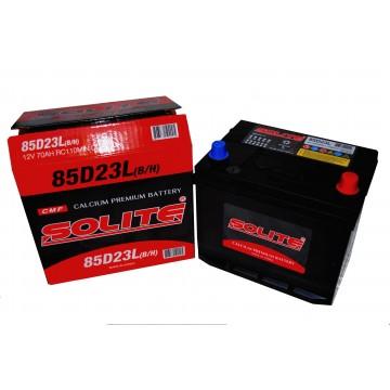 Аккумулятор SOLITE 6СТ-70 о.п. (85D23L) с буртиком