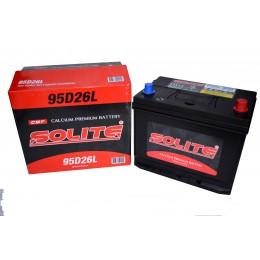 Аккумулятор SOLITE 6СТ-85 о.п. (95D26L) с буртиком
