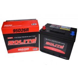 Аккумулятор SOLITE 6СТ-85 п.п. (95D26R) с буртиком