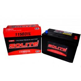 Аккумулятор SOLITE 6СТ-95 о.п.  (115D31L) с буртиком