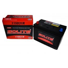 Аккумулятор SOLITE 6СТ-95 п.п.  (115D31R) с буртиком