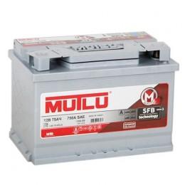 Аккумулятор 6СТ-75 АЗ п.п. MUTLU SFB