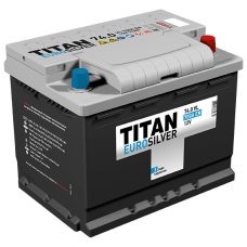 Аккумулятор TITAN EUROSILVER 6СТ-74.0 VL (низкая) (700А)