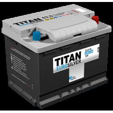 Аккумулятор TITAN EUROSILVER 6СТ-63.0 VL о.п. (610А)