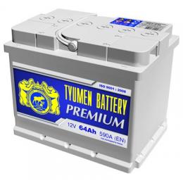 Аккумулятор Тюмень Премиум 6СТ-64 п.п.