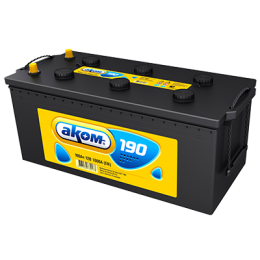 Аккумулятор АКОМ 6СТ-190 евро
