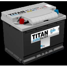 Аккумулятор TITAN EUROSILVER 6СТ-61.1 VL п.п.  (600А)