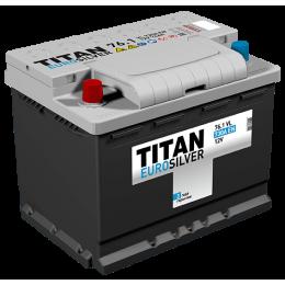 Аккумулятор TITAN EUROSILVER 6СТ-76.1 VL п.п.  (700А)